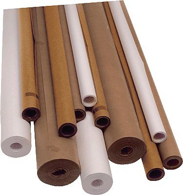 Unipapel 25113 - Rollo de papel de embalaje kraft, 25 m