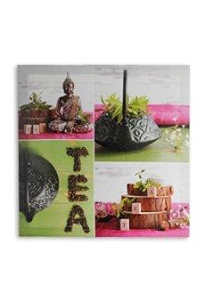 Cuadro Lino Buda Tea 50 x 50