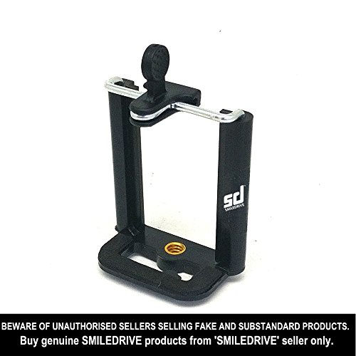 Smiledrive Universal Mobile Holder Tripod Attachment(Black)