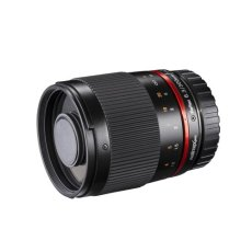 Walimex 19720 lente de cámara - Objetivo (SLR, 9/9, telephoto, 64.5 mm, 74 mm, 318 g) Negro
