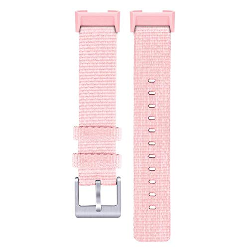 Wan Ning Resistente Tessuto di Nylon di Ricambio per Fitbit Charge3 Fitbit Charge3 con Cinturino di...
