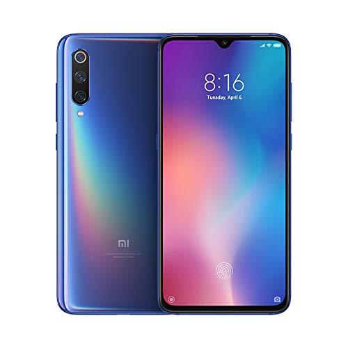 Xiaomi MI 9 Smartphone, 64 GB, display AMOLED 6.39', 2280x1080, Snapdragon 855 Octa-core, 6 GB RAM, Tripla Fotocamera 48+16+12 MP, Android, Nero Onice [Versione Italiana]