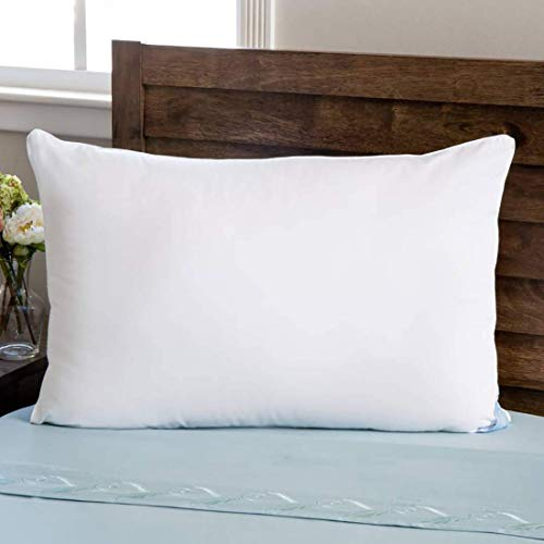 "Kuber Industries Luxurious 1 Piece Microfibre Pillow Filler - 16""x24"", White - CTKTC022177"