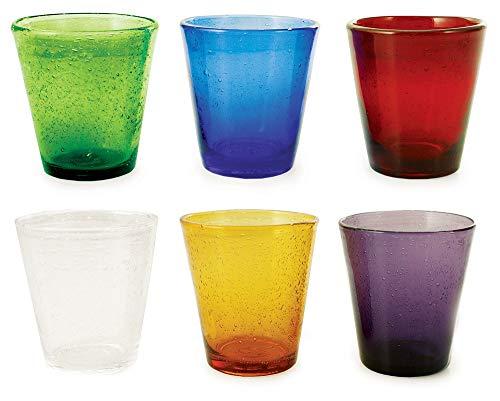Villa d'Este Cancun Set Bicchieri, 9 cm, 6 unità