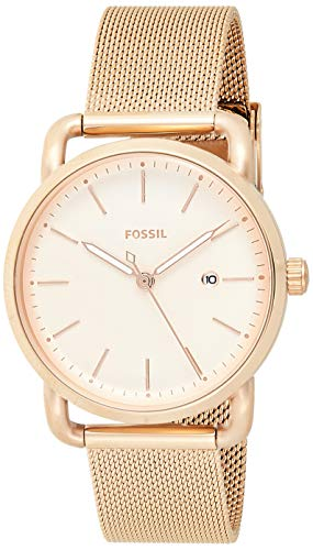 Fossil Women's The Commuter ES4333 Rose-Gold Stainless-Steel Quartz Fashion Watch