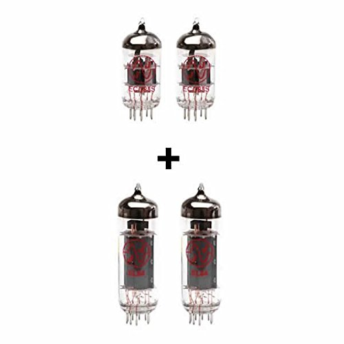 Replacement Valve Kit for Vox Night Train NT15H (2 x ECC83 2 x Matched EL84)