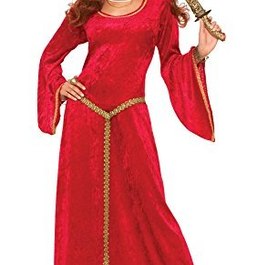 Forum Novelties ac576Medieval Ruby hechicera vestido, tamaño 10–14