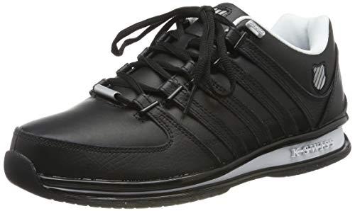 K-Swiss Herren Rinzler SP Sneaker, Schwarz (Black/Neutral Grey/White 087), 45 EU