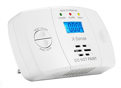 x sense co03m d tecteur de monoxyde de carbone co alarme pile capteur electrochemical gas. Black Bedroom Furniture Sets. Home Design Ideas
