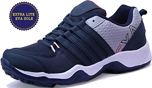 ETHICS Perfect Navy Blue Sport Shoes for Men (7, Navy Blue)