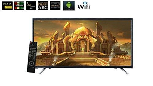 HiTech 101.6 cm (40 inches) HT-LE-40 SMART 2 Full HD LED Smart TV (Black)