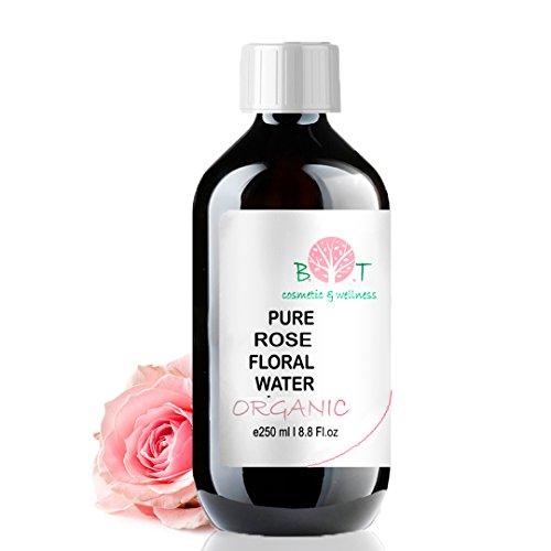 Idrolato BIO di Rosa Acqua aromatica pura al 100% Acqua Floreale 250 ml