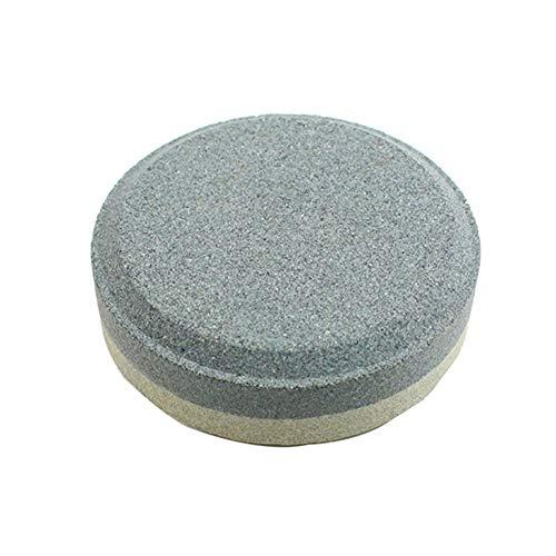 UIYU - Piedra de afilar de Doble Cara, afilador Multiusos de Piedra de afilar de Doble Cara para Cuchillos de Cocina, Hacha de cortacésped