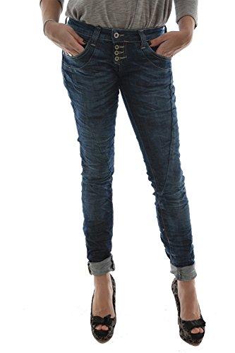 Please Damen Jeanshose Gr. Small, Blau