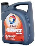 Aceite Total Quartz 5000 15W40 5L
