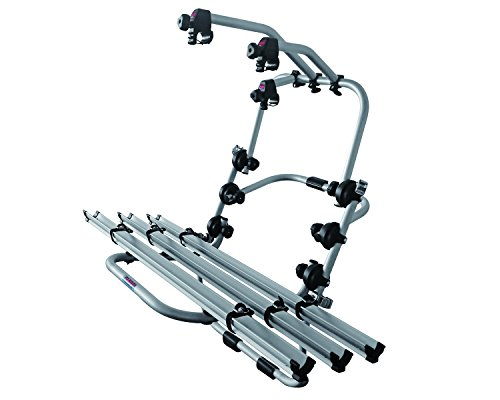 Fabbri Portatutto 6201801 Portabiciclette Posteriore per Trasportare 3 Biciclette