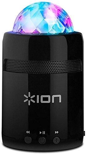 ION Audio Party Starter MKII - Altoparlante Portatile con Funzioni Bluetooth, Batteria Interna Ricaricabile, Display a Luci, Ingresso Aux e Microfono Incorporato