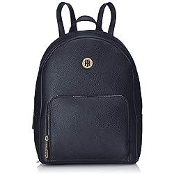 Tommy Hilfiger - Th Core Mini Backpack, Mochilas Mujer, Azul (Tommy Navy), 12x27x21 cm (B x H T)