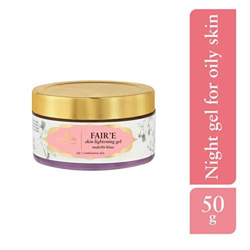 Just Herbs Fair'E Mulethi-Khus Skin Lightening Gel, 50g 8