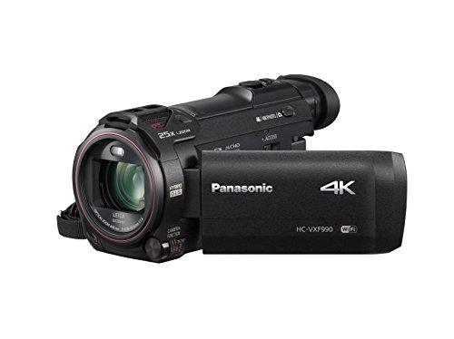"Panasonic HC-VXF990EGK - Videocámara (MOS BSI, 25,4 / 2,3 mm (1 / 2.3""), 4,08 - 81,6 mm, tarjeta de memoria, 4K Ultra HD)"