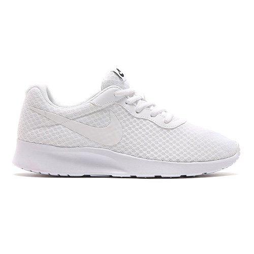 Nike Damen Tanjun Laufschuhe Weiß, 36.5 EU