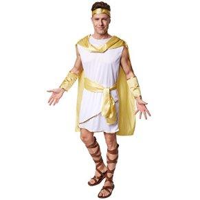 TecTake dressforfun Disfraz para Caballero de Emperador Romano   Atuendo Romano con Precioso cinturón + clásica Cinta de…
