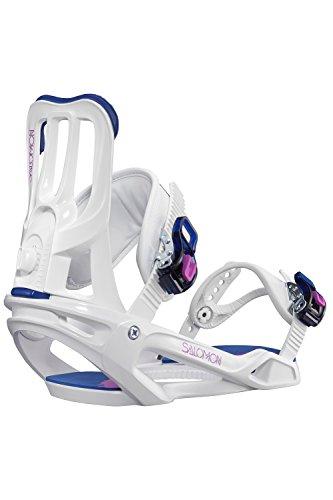 Salomon Damen Spell Snowboardbindung weiß M