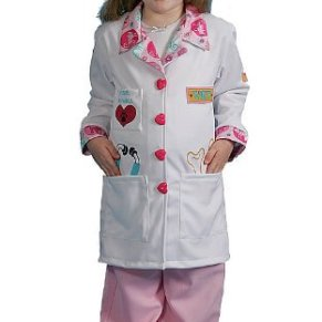Dress Up America Disfraz de pequeña niña veterinaria