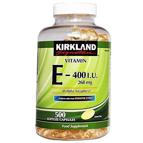 Kirkland Vitamina E 400 I U 268mg 500capsules
