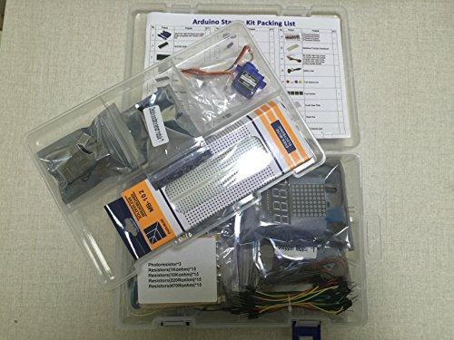 51%2B3I2CUDQL - Kit de aprendizaje para programar KOOKYE para Arduino, Raspberry Pi none UNO R3 Starter kit for Arduino