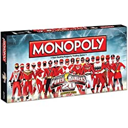 MONOPOLY: Power Rangers 20th Anniversary Edition by USAopoly