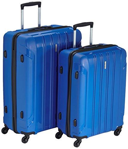 Travelite Koffer Colosso 4-Rad Polypropylen-Trolley L/M, 76 cm 184 Liters Blau 71210-20