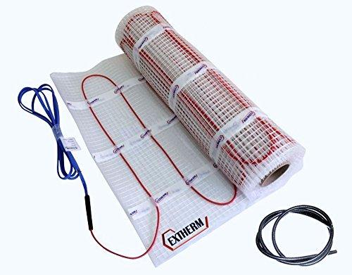 Extherm TWIN-Heizkabelmatte elektrische Fußbodenheizung 150 W/m² 2.0 m²