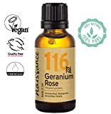 Naissance Olio di Geranio Rosa - Olio Essenziale Puro al 100%, Vegano, senza OGM - 30ml