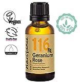 Naissance Aceite Esencial de Geranio 30ml - 100% Puro, vegano y no OGM