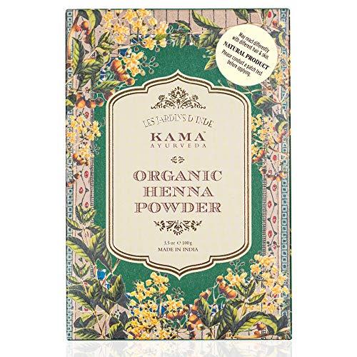 Kama Ayurveda 100% Organic Henna Powder, 100g 8
