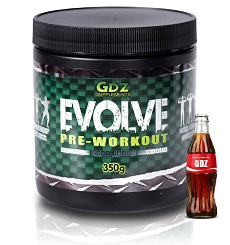 Evolve Pre Workout ★ NEW Godzillorade ★ Notice a change in mindset, focus & drive ★ 350g (Cola)