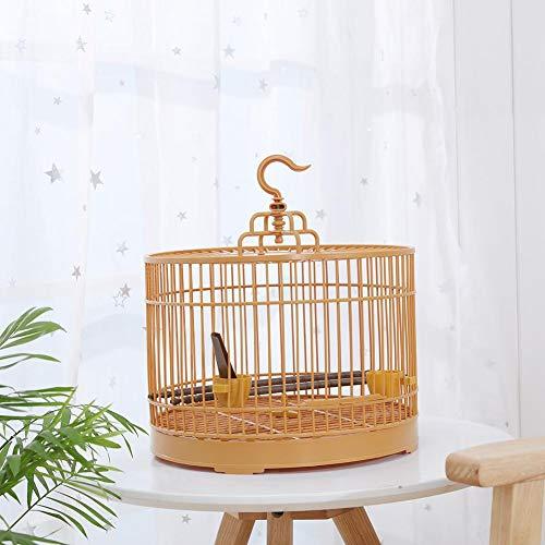 Riverry Gabbia per Uccelli Tonda Vintage, Gabbia per Uccelli in Metallo Gabbia per pappagalli...