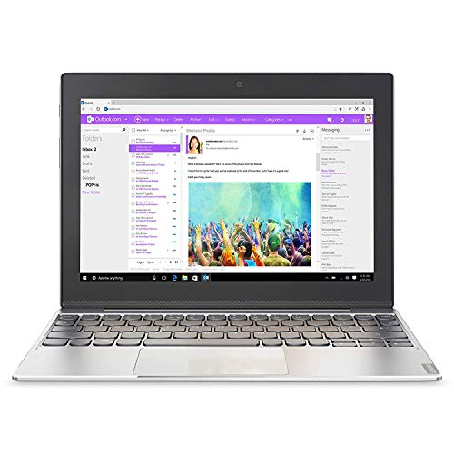 Lenovo Miix 320 25,7 cm (10,1 Zoll HD IPS Touch) Convertible Tablet-PC (Intel Atom Z8350, 4  RAM, 64...