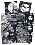 The Nightmare Before Christmas Copripiumino del personaggio Jack, colore: nero Standard nero