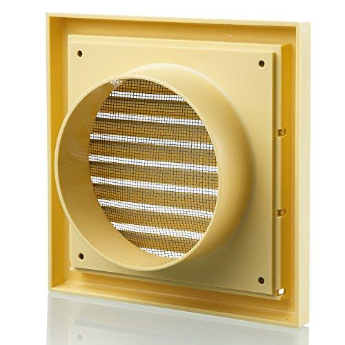 Hotte kit de ventilation grille d a ration murale de salle for Installer ventilateur salle de bain