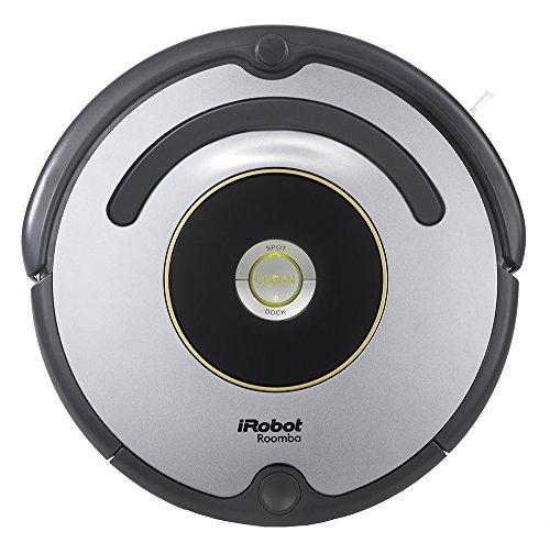 iRobot Roomba 615 - Robot aspirador, alto rendimiento de limpieza, atrapa el pelo de mascotas, gris