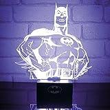Paladone, Dc Comics Batman Pp2998Dc, Lampada Da Tavolo