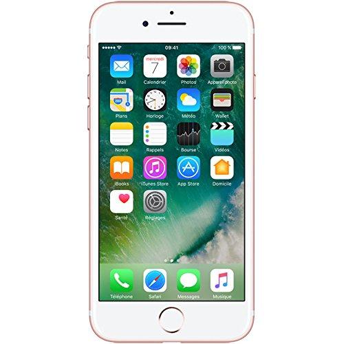 Apple iPhone 7 Smartphone Libre Oro Rosa 128GB (Reacondicionado)