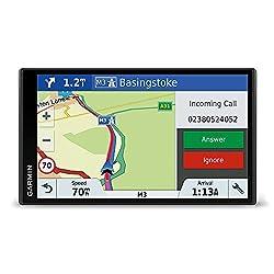 Kaufen Garmin DriveSmart 61 LMT-D EU Navigationsgerät (17,65 cm (6,95 Zoll) rahmenloses Touchdisplay, Europa (Traffic via DAB+ oder Smartphone Link) lebenslang Kartenupdates & Verkehrsinfos, Smart Notifications)
