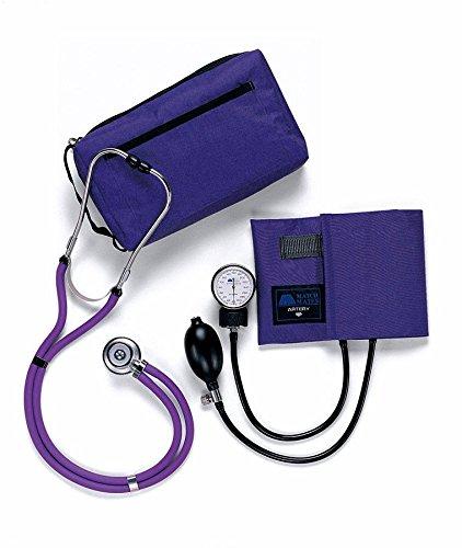 Set sfigmomanometro smeraldo e stetoscopio Sprague Timesco d05.305pl, viola