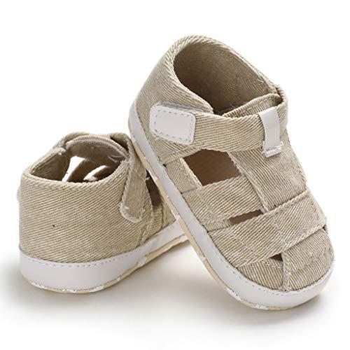 Harpily Sandali Scarpe Bambina Bambino Scarpine Neonato Bambino Colore Puro in Morbida Pelle Sneakers