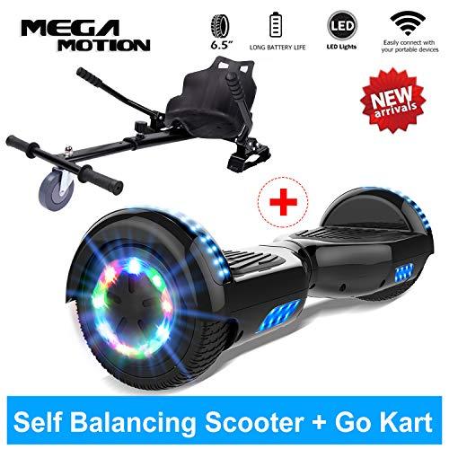 Mega Motion Hoverboard Self Balance Scooter Elettrico 6.5'' E-Star, Scooter Elettrico Auto...