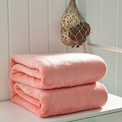 Flanella coperte, coperte nuova gamma di 'Light ma caldo micro velluto morbido soffice coperta per...