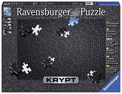 Ravensburger 15260 Krypt - Puzzle per adulti, colore: Nero